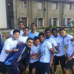 Rashtriya Military School -belgaum students after 10km running
