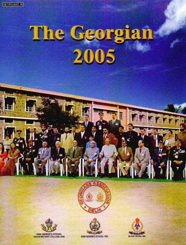 Georgian Association Delhi Magazine 2005 Cover Photo
