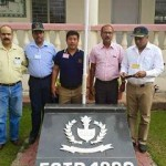 Upendra Singh Rana at Ajmer Military School Administration Block