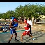 Aditya Lamba Boxing Match at RMSA