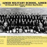 Ajmer Military School - 1969-70 All Round Best House - Prithviraj House