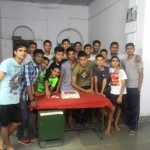 Birthday party at RMS Belgaum