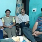 On Friendship Day we Georgians (DMS 81 batch) living in Dwarka, Delhi met over at Bipin Verma's place.