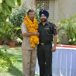 Farewell by Major Nirmaljit-Singh, Administrative Officer - RMSA