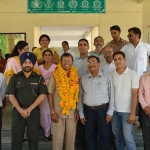 SK Lal Sir with Faculty and Staff Members