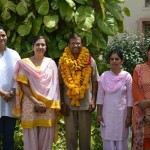 SK Lal Sir with RMSA Staff Members