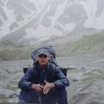 Shashi Pandey at Rohtang Pass