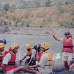Shashi Pandey white water rafting