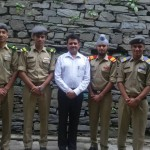 Virender Sambyal - Taxila House Master with School perfects