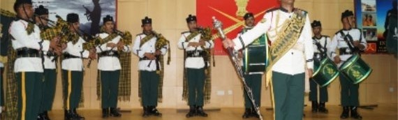Patriotic fervor amongst students reached crescendo during performance by Indian Army Band