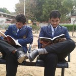 Prithviraj house cadets preparing for exams