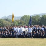 INDIAN AIR FORCE AKASHGANGA TEAM - Para Jumpers with Cadets