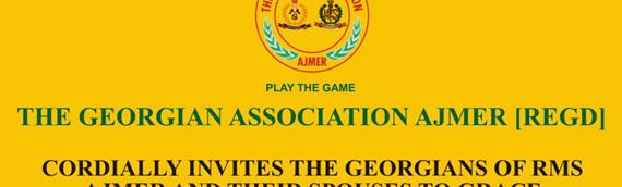 Ajmer Georgians Association Alumni Meet – 23 April, 2017
