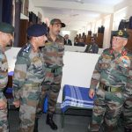 COAS inside twin sharing room of cadets hostel