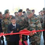 COAS got inaugurated the MOTIVATION HALL by youngest cadets at the hall....this photograph will definitely motivate him throughout his life...