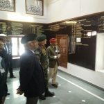 COAS at motivation hall.....Deeply impressed work done by EX boys to the tune of 50 Lakhs by converting temple service hall....Temple is still there.....This was not under MES....Now COAS has instructed that it will be under books of MES