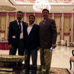 Spot The Difference between Soft & Hard Drinkers - Vijay Aggarwal, Jitender Kumar Sharma (Dr JK Sharma) & Amarjeet Malik during Drinks Hours at Georgians 86' Batch Get-together (Manekshaw Centre, Delhi Cantonment - December 15th, 2019)