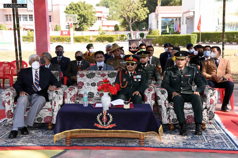 Major General Piyush Gupta - GOC, 18 Infantry Division - Ajmer Ex-student from Subhash House (776), was School Captain during 1982-83